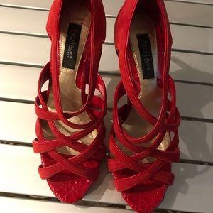 White House Black Market red heels